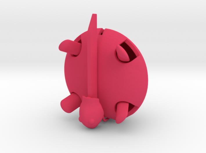 Squishy Turtle - Circle 3d printed