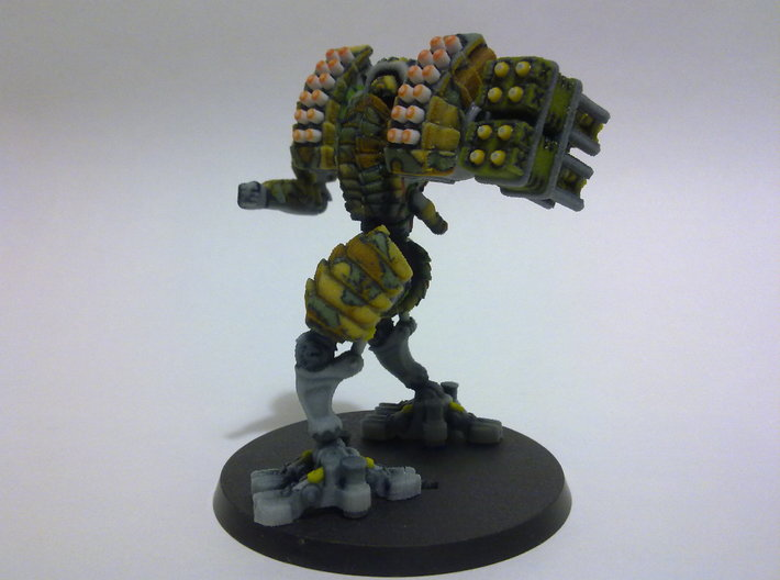 Heavy Mech suit 3d printed 60mm base