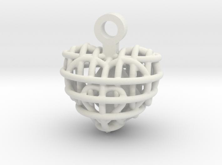 Heart-Peace 3d printed