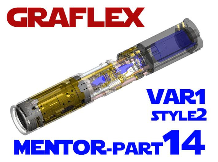 Graflex Mentor - Var1 Part14 - Main Gen Style 2 3d printed