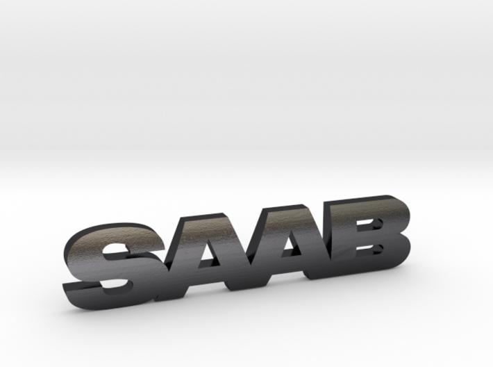 SAAB_emblem 3d printed