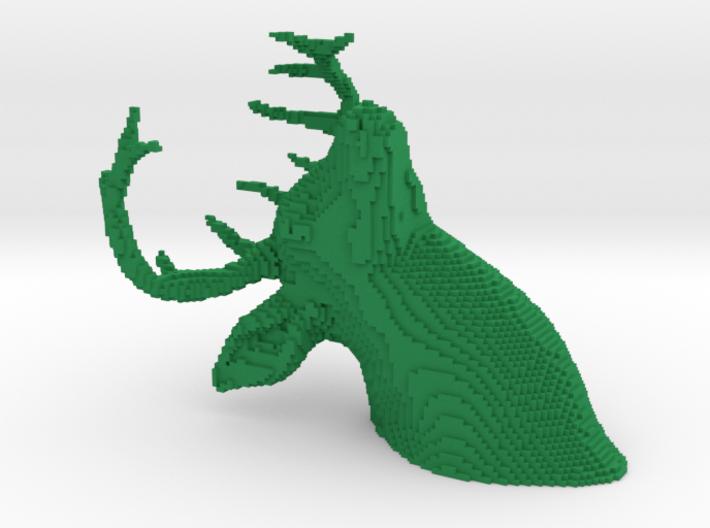 SPELGJORT | 8-Bit Stag's Head 3d printed
