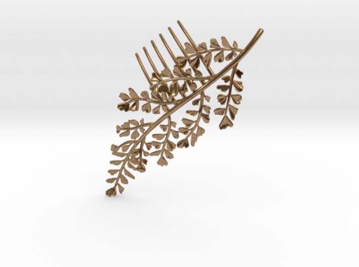 Maidenhair Comb 3d printed