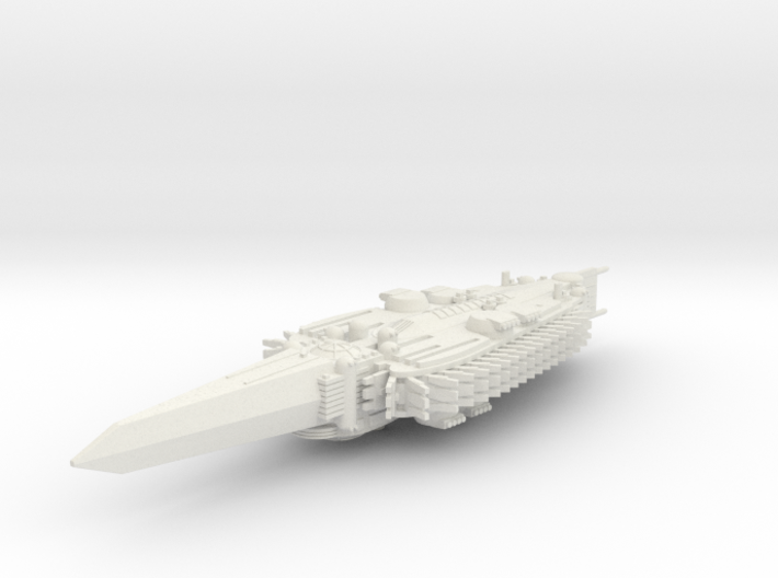 Last Exile. Standard Battleship ofAdes Federation 3d printed