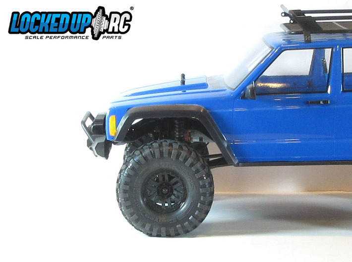 Traxxas TRX-4 to SCX10 II Cherokee XJ body post