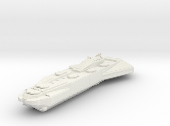 Space Battleship Miniature 3d printed