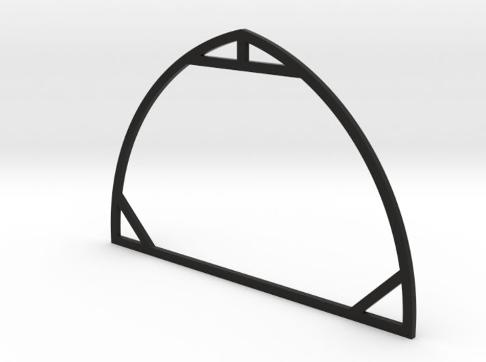 1:64 Round Barn Rafter 3d printed