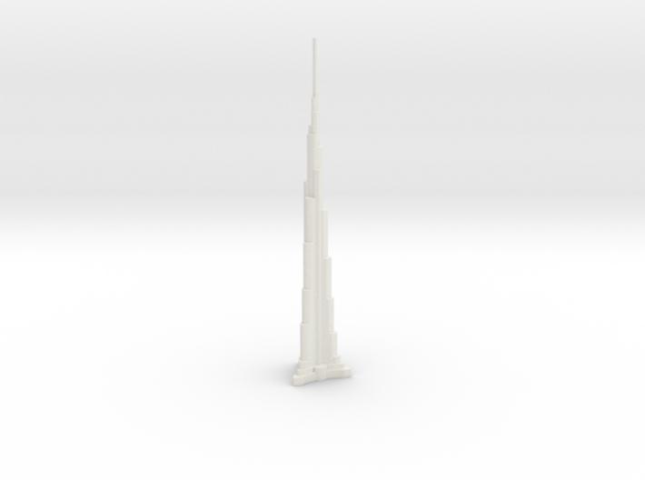 Burj Khalifa - Dubai (1:4000) 3d printed