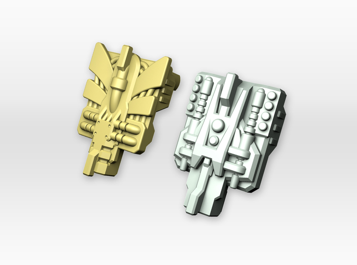 POTP Compatible Overlord Powermaster Plates 3d printed