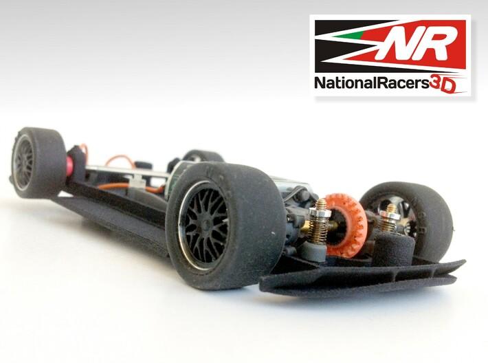 3D Chassis - Ninco Lamborghini Gallardo - Combo 3d printed