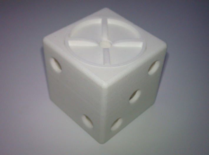 ring holder The Gambler 3d printed