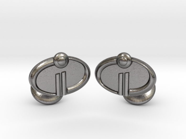 The Incredibles 2 Cufflinks 3d printed