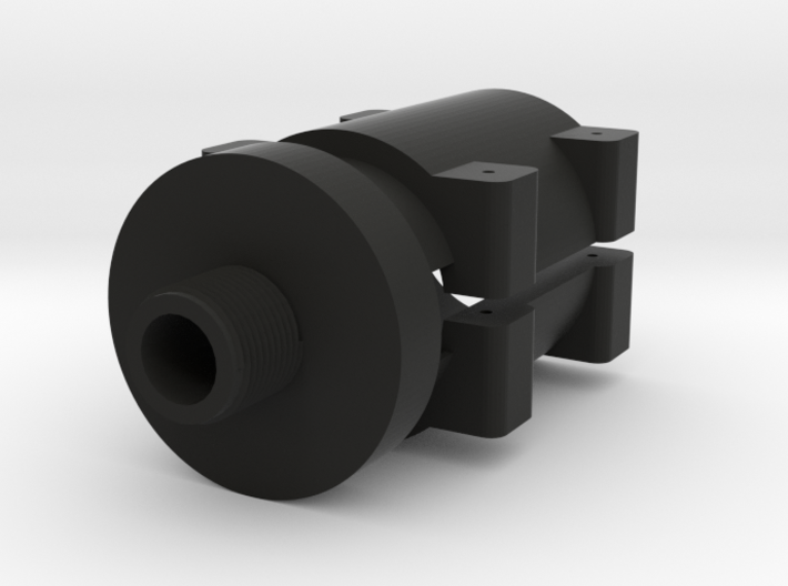 14mm- Barrel Adapter for Sniper Rifle 3d printed