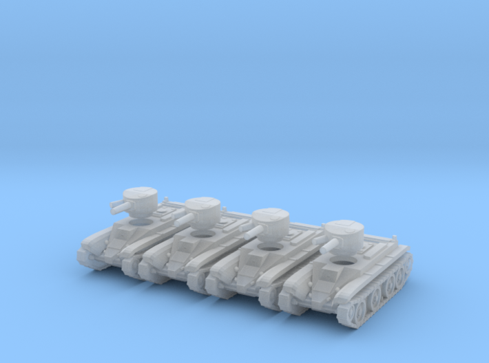 6mm BT-2 tanks 3d printed