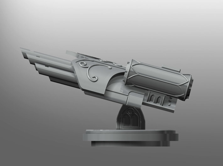 Banisher Missile Launcher 3d printed