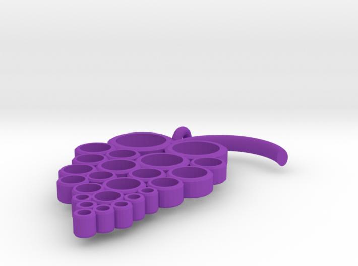 Grapes Pendant 3d printed