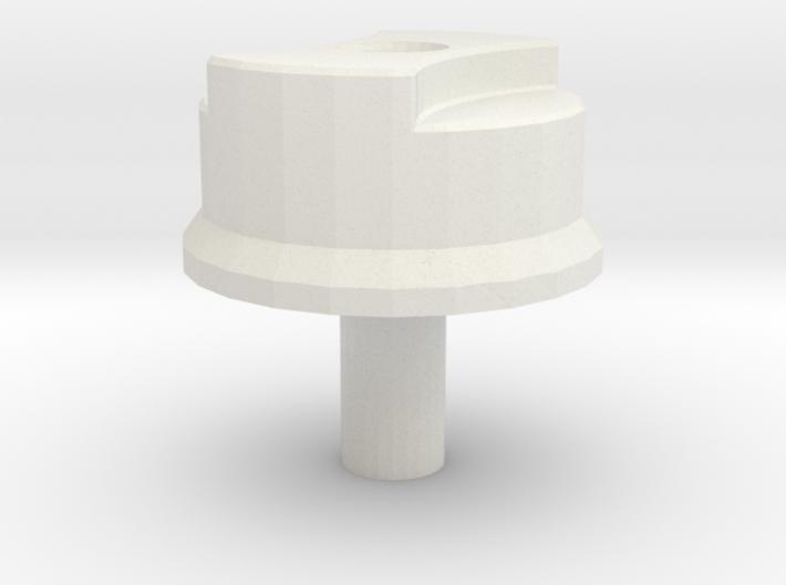 Fuel filler cap D90 model 2 Team Raffee 3d printed