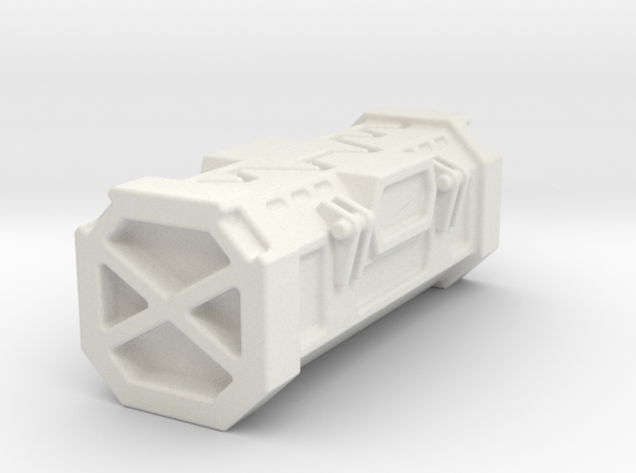 28mm Kyber Crystal Container Storage Crate 3d printed