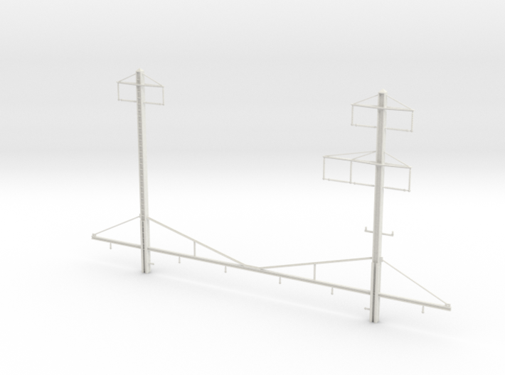 north philly canopy catenary structure 3d printed