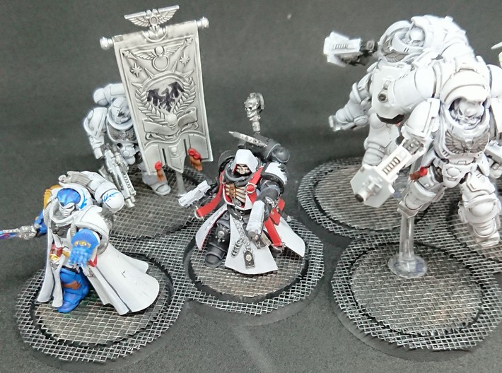 40mm Play and Display trays 3d printed
