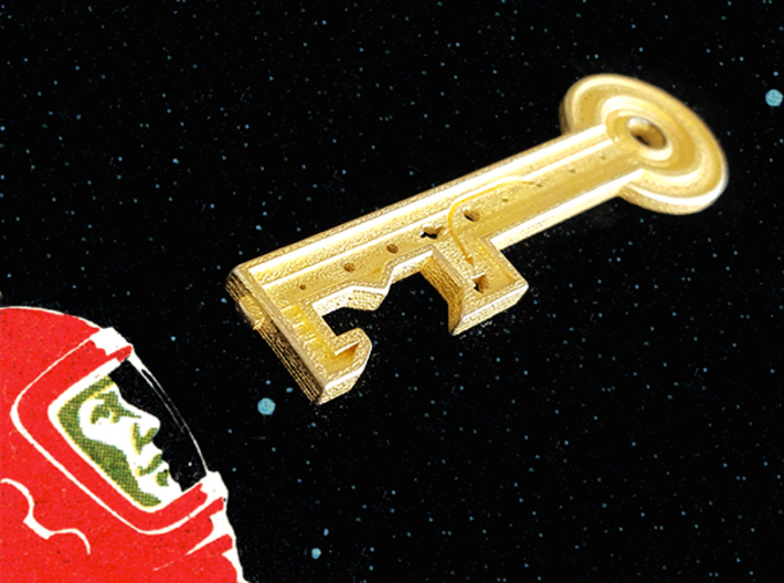 Key To The Stars  3d printed