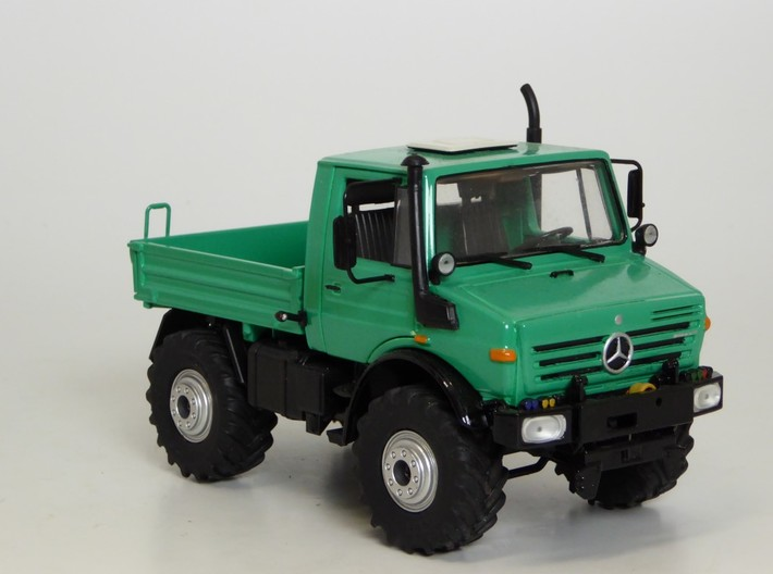 Unimog Grill 3d printed