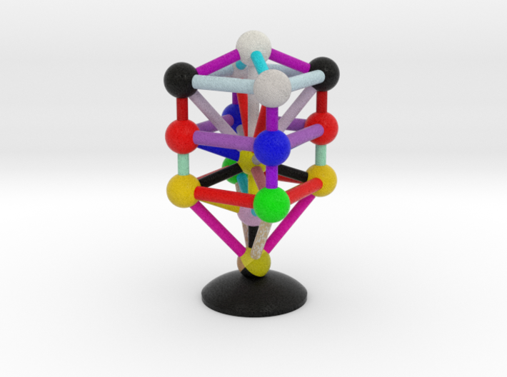 3D Tree of Life 3d printed