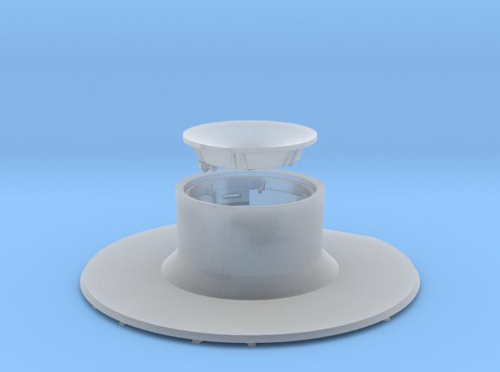 CM parachute compartment-closed version 3d printed