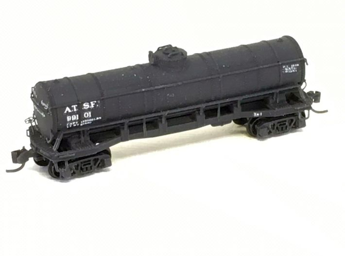 ATSF TANKCAR Tk-I, complete body 3d printed