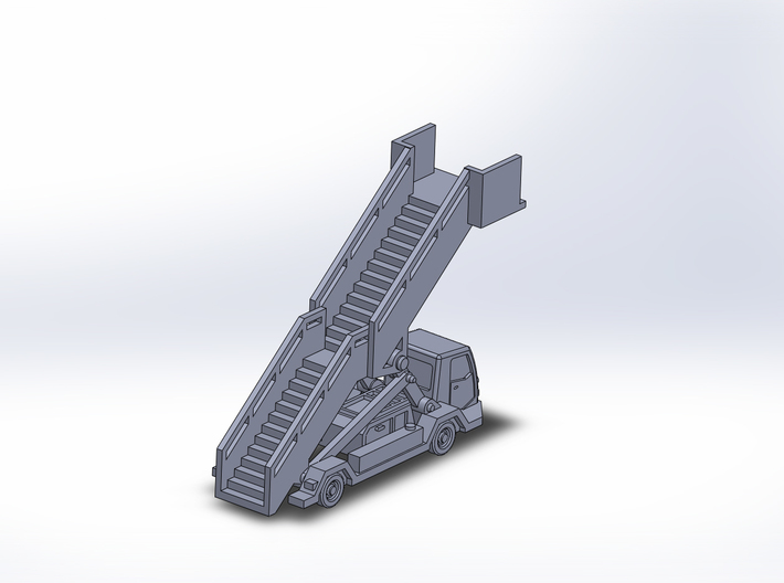 Stairs v3 power open 14mm@1/400 3d printed