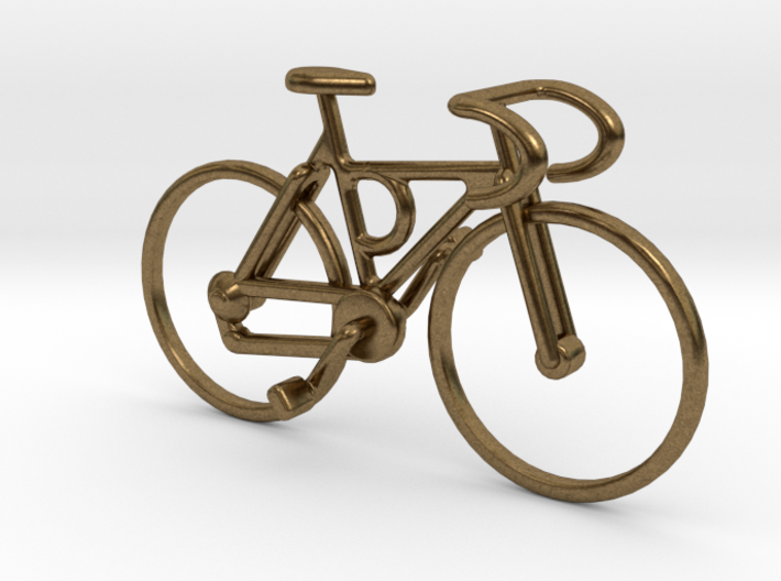 Racing bicycle pendant pe4aujp2m by lpalmu racing bicycle pendant 3d printed aloadofball Gallery