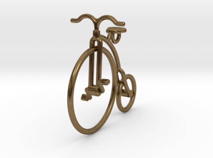 Vintage bicycle pendant 2wcah2kec by lpalmu vintage bicycle pendant 3d printed aloadofball Image collections