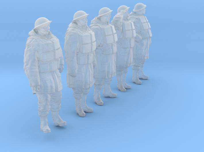 1/48 Royal Navy D-Coat+Lifevst Set203-1 3d printed