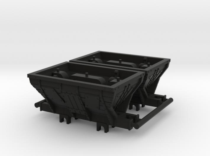 009 Coal Hoppers x2 3d printed