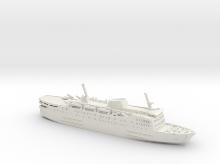 Express Olympia (1:1200) 3d printed