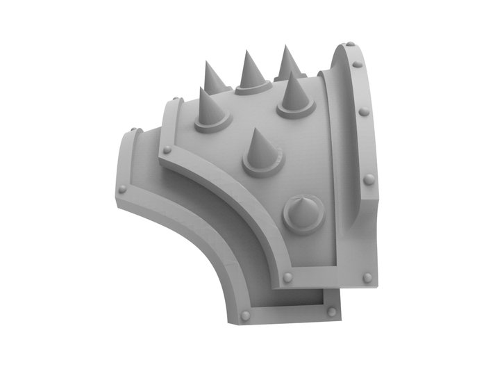 Iron Spikes - Shoulder Pad 3d printed