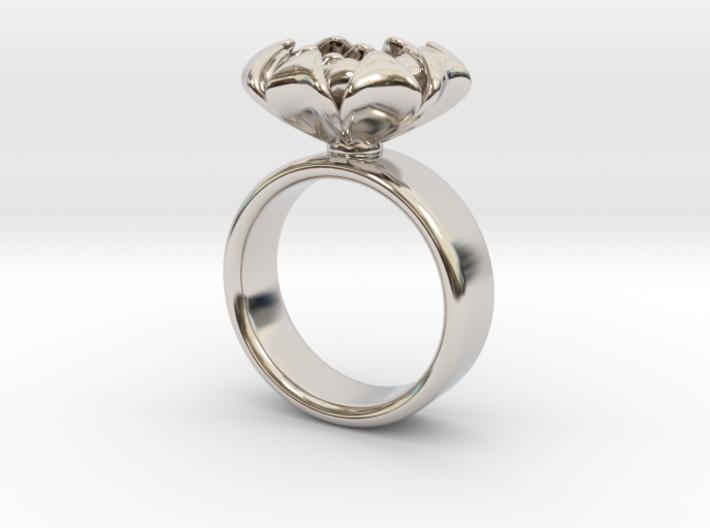 Flower Ring 3d printed