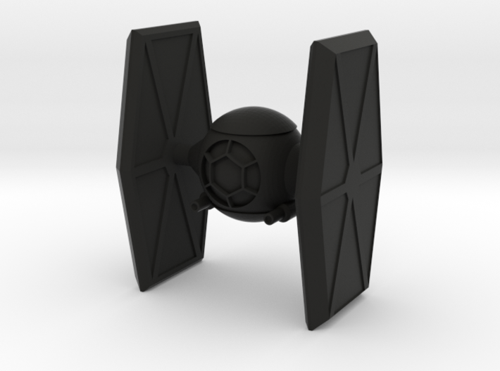 TI-Fighter 3d printed
