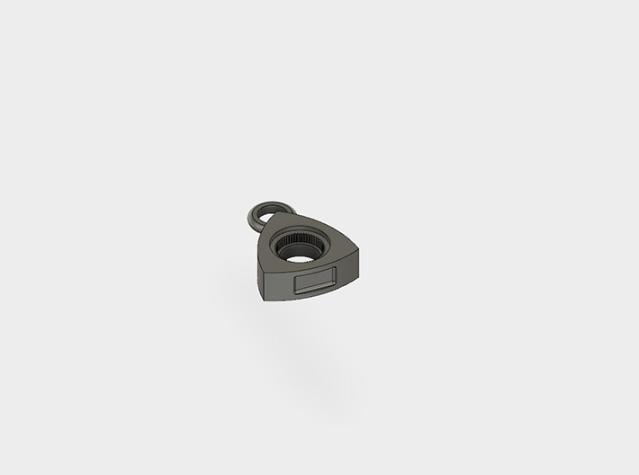 Rotor Keychain(Rotary Engine)(10/20mm) 3d printed