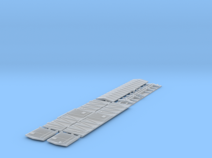 ATSF BOXCAR Bx-3/6, zinc concentrate complete shel 3d printed