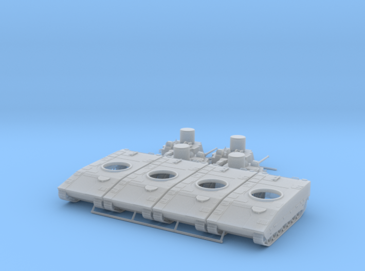 LVKV 90a 1/100 pack of 4 3d printed