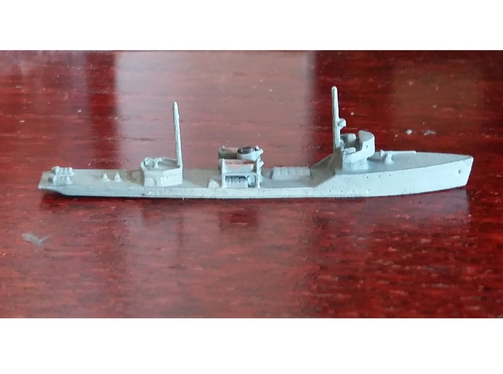 1/1250th scale Brilliant class patrol ship 3d printed Photo and painting by profLutz.