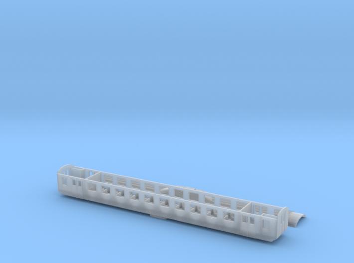 SOB EW II Voralpenexpress 2.Klasse Scale TT 3d printed