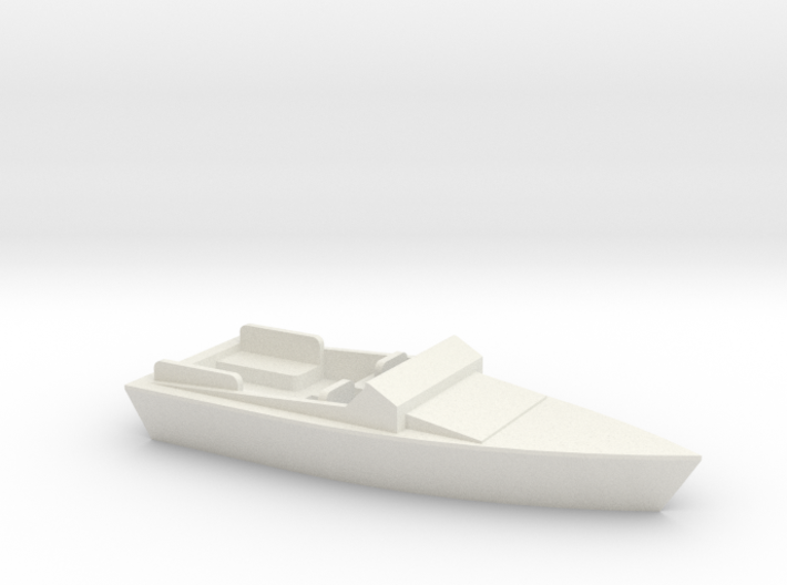 OO Scale Speed Boat 3d printed