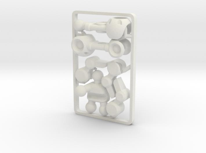 Mechanoid BioBorg Gripper Arm (Right) for ModiBot 3d printed Mechanoid BioBorg Gripper Arm (Right) for ModiBot