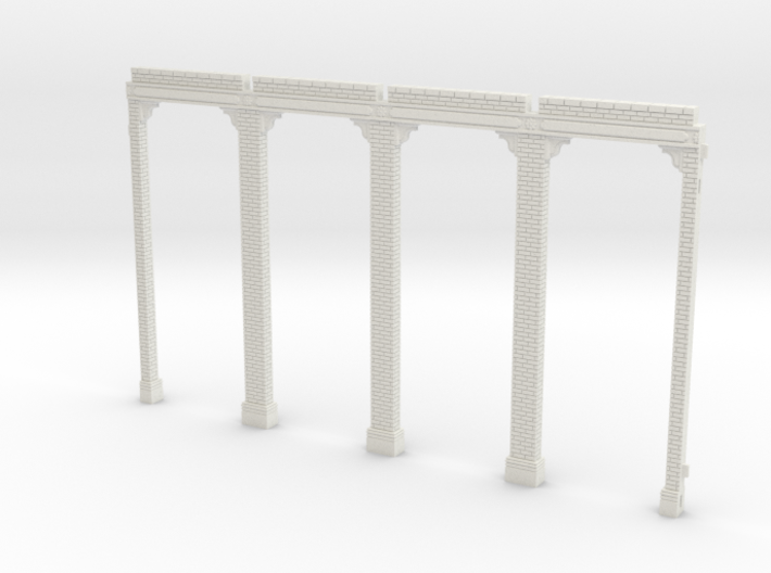 HOGG-Ref01 - Large modular train station 3d printed