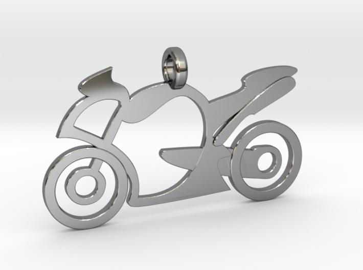 Motorcycle racing 3d printed