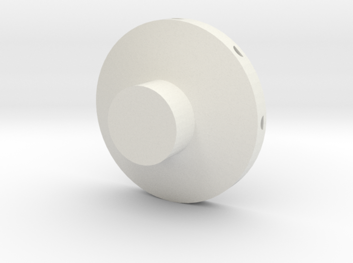 Disc Probe Side Hole Rev 2 3d printed