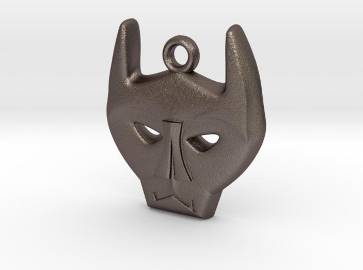 Bat Mask Charm 3d printed