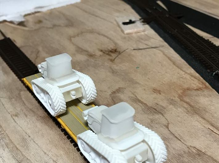 Agco Challenger Tractor - Nscale 3d printed Painting and Photo by Jeff King